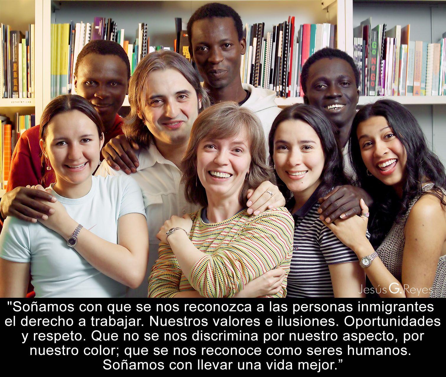 Atención a inmigrantes. Madrid