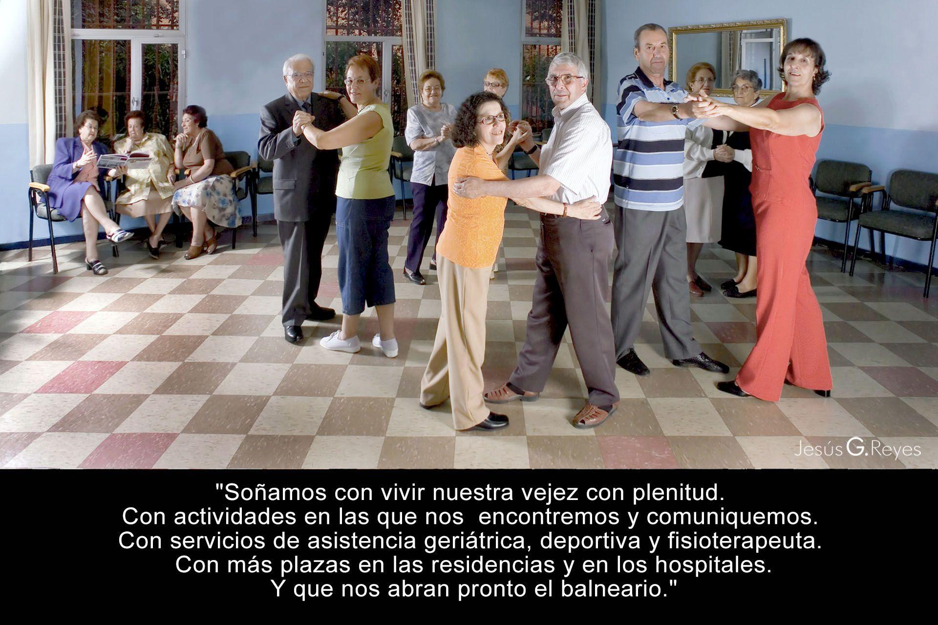 Colectivo jubilados. San Fernando de Henares