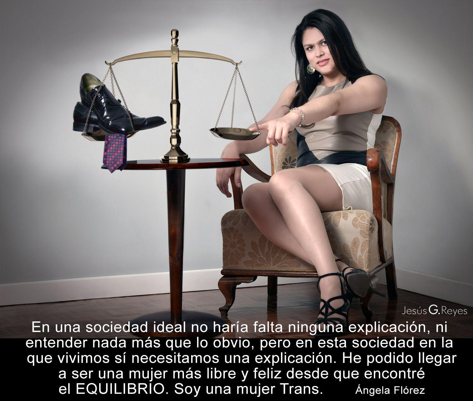 Ángela Flórez. Mujer Trans