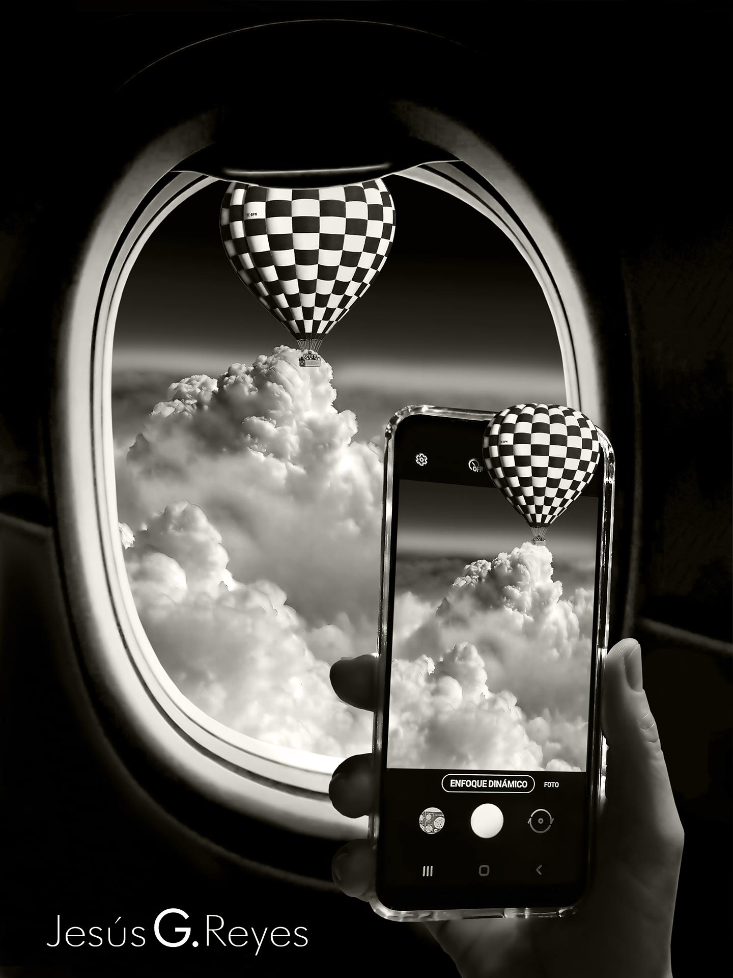 Travel photomontage