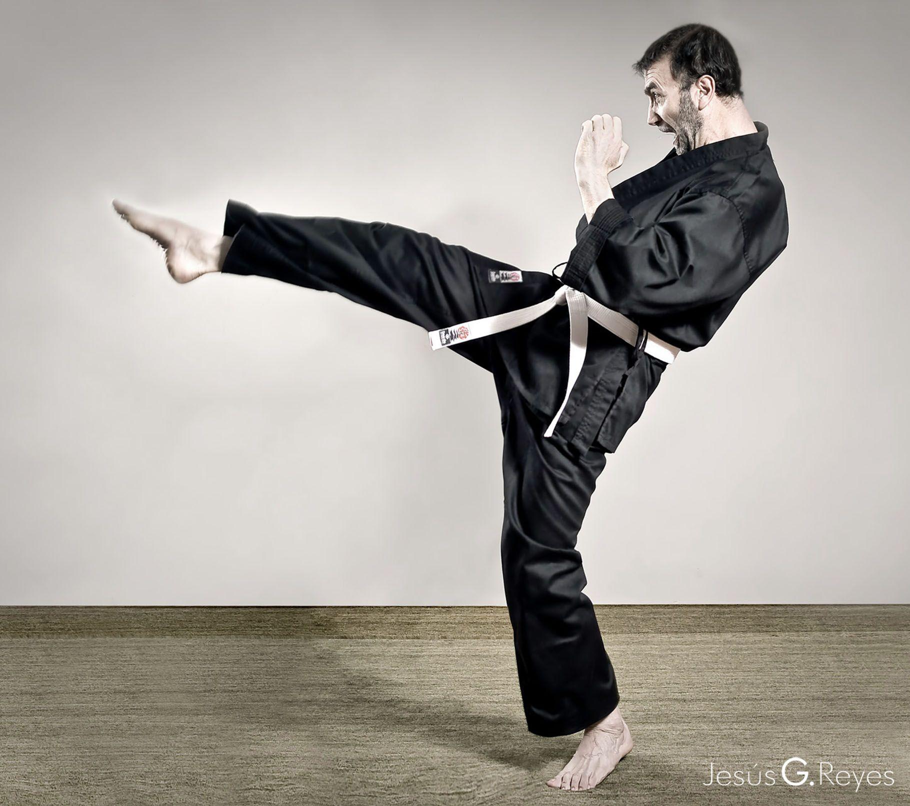 Sesión fotográfica artes marciales