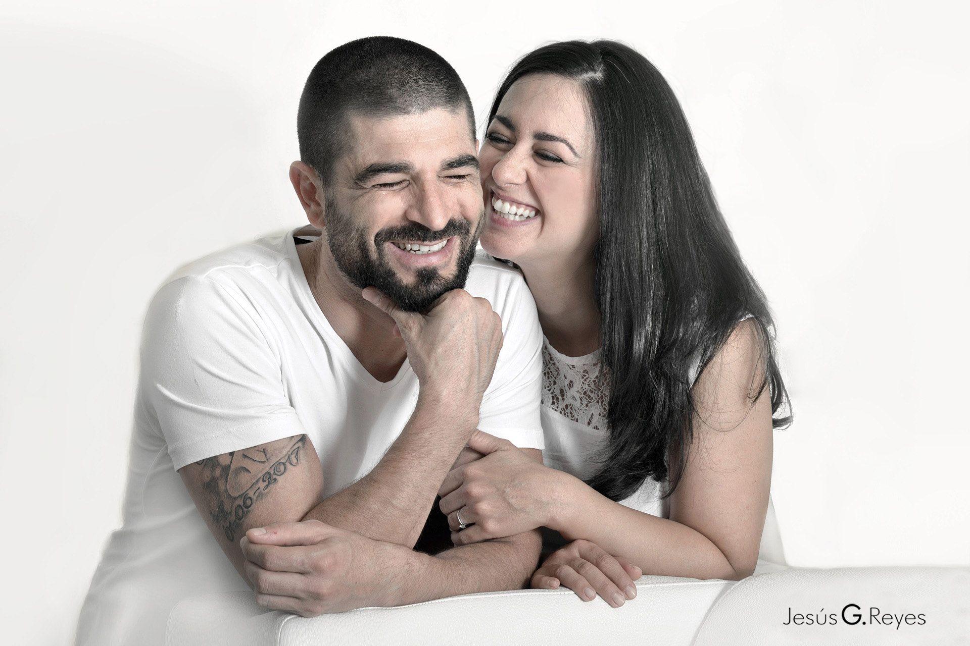Sesión fotográfica de pareja