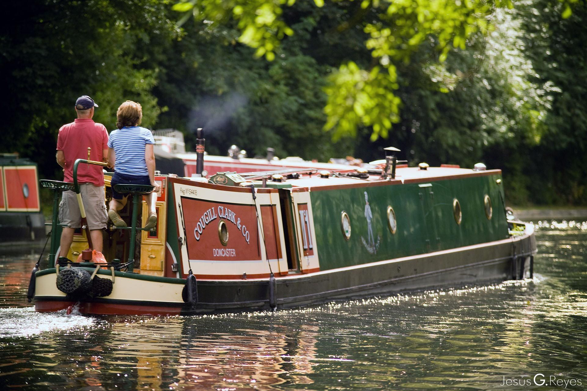 Grand Union Canal. Londres