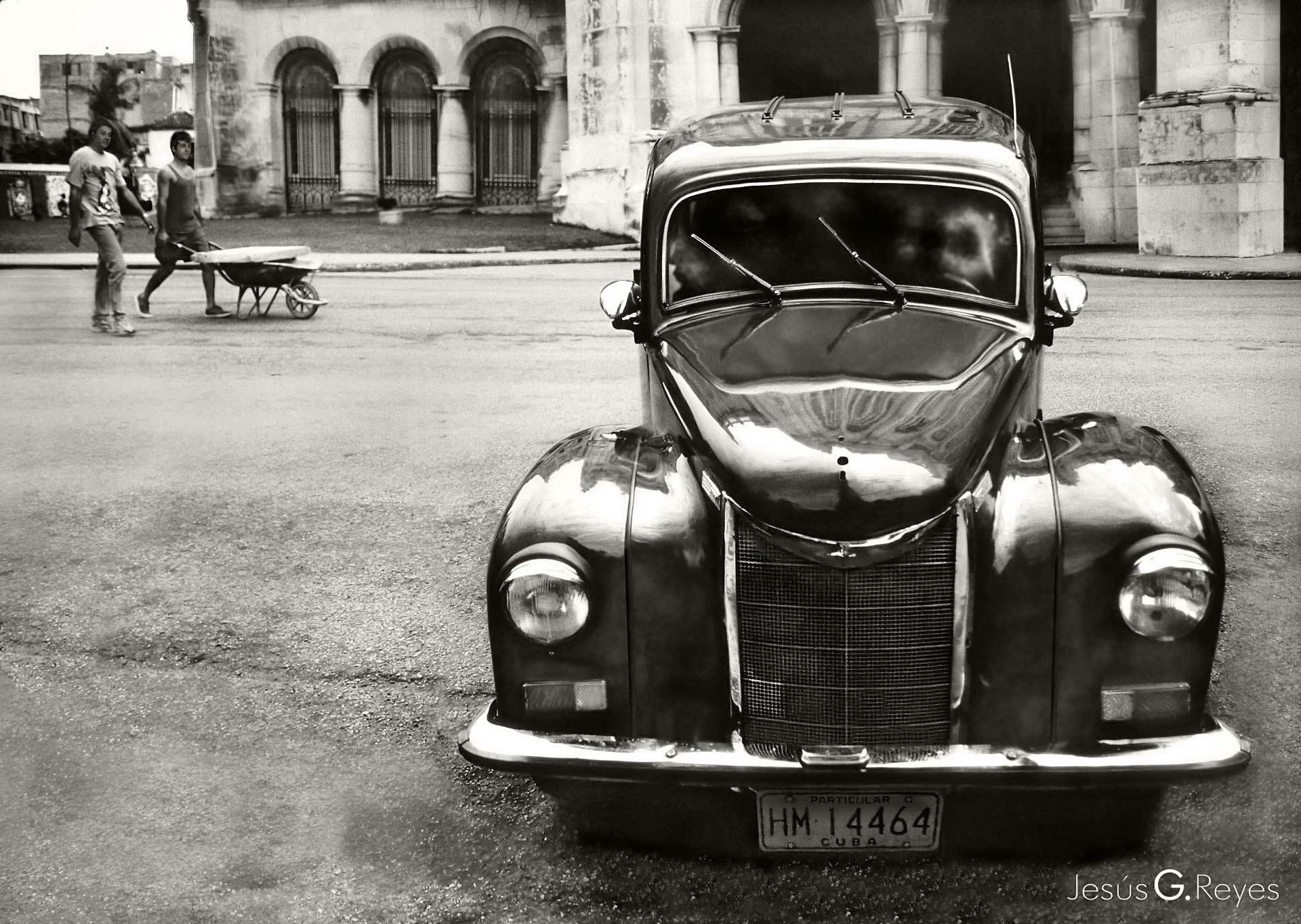 Coche antiguo. La Habana