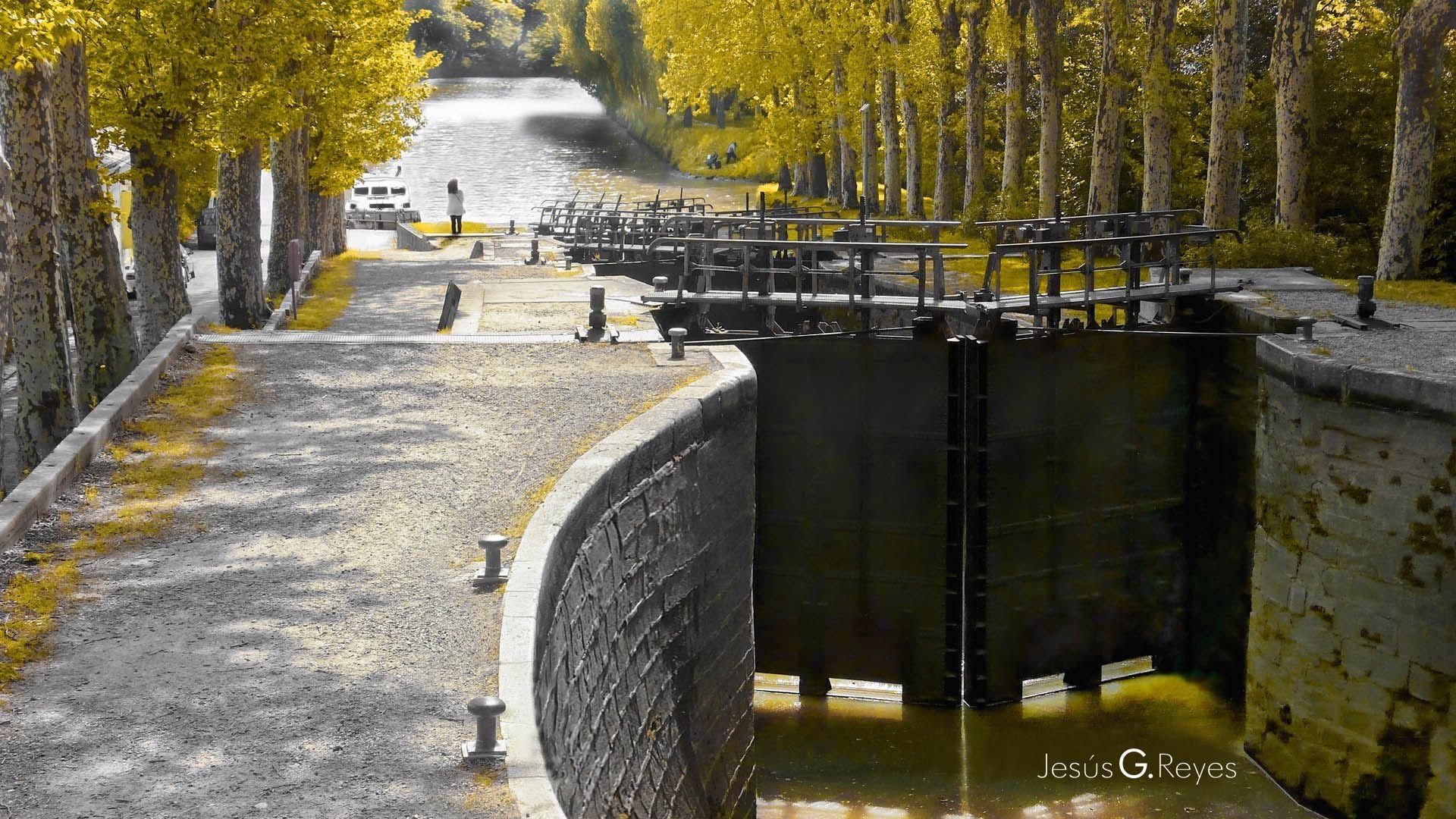 Canal de Midi. Francia